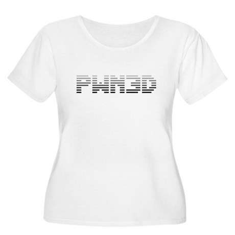 PWN3D Plus Size Scoop Neck Shirt