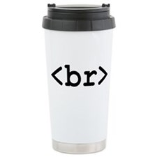 HTML Coffee break - Ceramic Travel Mug