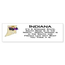 French Lick Indiana Bumper Bumper Sticker