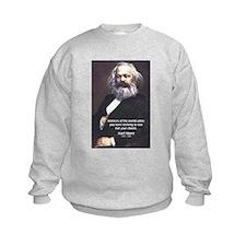 Union of Workers: Marx Kids Sweatshirt
