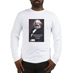 Union of Workers: Marx Long Sleeve T-Shirt