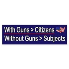 Guns = Citizens