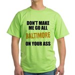 Baltimore Baseball Green T-Shirt