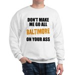 Baltimore Baseball Sweatshirt