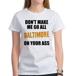 Baltimore Baseball Women's T-Shirt