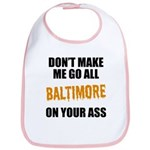 Baltimore Baseball Bib