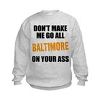 Baltimore Baseball Kids Sweatshirt