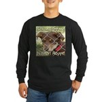 Adopt A Dog! Long Sleeve Dark T-Shirt
