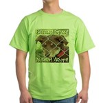 Adopt A Dog! Green T-Shirt