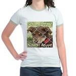 Adopt A Dog! Jr. Ringer T-Shirt