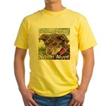 Adopt A Dog! Yellow T-Shirt