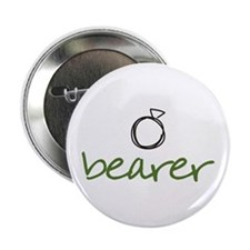 "Ring Bearer - Green 2.25"" Button"