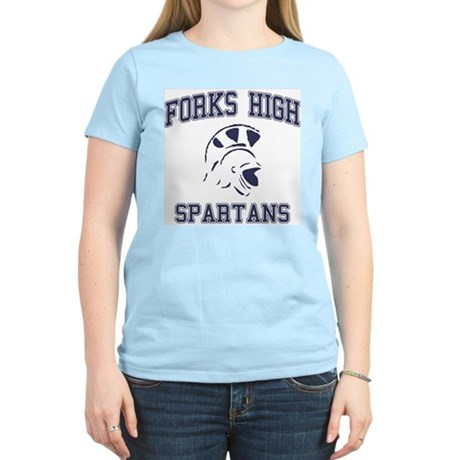Forks High Spartans Womens Light T-Shirt