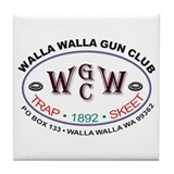Walla Walla Gun Club Tile Coaster