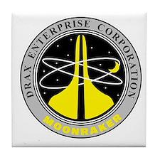 Drax Enterprise Corporation Tile Coaster