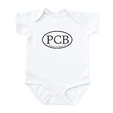 PCB Panama City Beach Oval Onesie