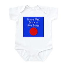 Red Dot/Blue State Infant Bodysuit
