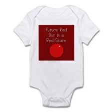 Red Dot/Red State Infant Bodysuit