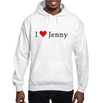 I Love Jenny Hooded Sweatshirt