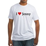 I Love Jenny Fitted T-Shirt