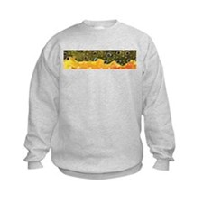 Brook Trout Skin Kids Sweatshirt