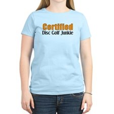 Certified Disc Golf Junkie T-Shirt