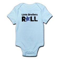 Little Brothers Roll Onesie