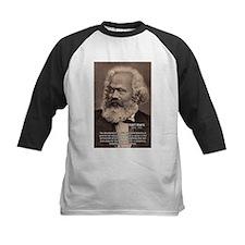 Civilization and Marx Kids Baseball Jersey