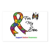 Autism Support Son Postcards (Package of 8)