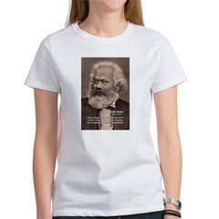 History Analyst Karl Marx Women's T-Shirt