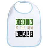 Green is the New Black Bib