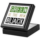 Green is the New Black Keepsake Box