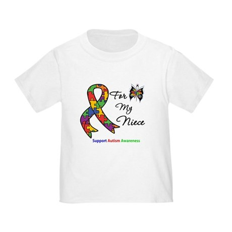 Autism Support Niece Toddler T-Shirt