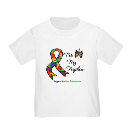 Autism Support Nephew Toddler T-Shirt