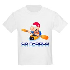 Go Paddle! Kids T-Shirt