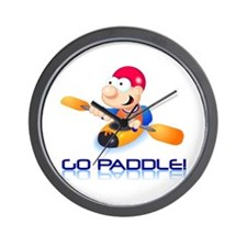 Go Paddle! Wall Clock
