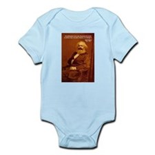 Power of Change Karl Marx Infant Creeper