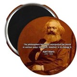 Power of Change Karl Marx Magnet