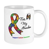 Autism Support Grandson Coffee Mug