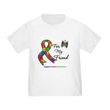 Autism Support Friend Toddler T-Shirt