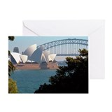 Opera House View Greeting Card