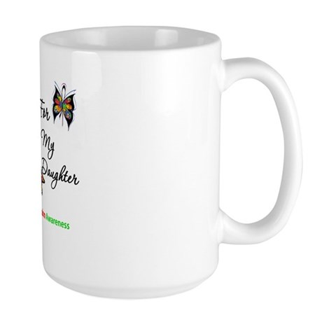 Autism Support Daughter Large Mug