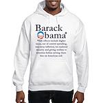 Side Effects Hooded Sweatshirt