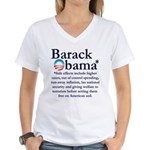 Side Effects Women's V-Neck T-Shirt