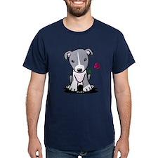 Blue Pit Bull T-Shirt
