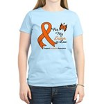 Leukemia Ribbon Sister-in-Law Women's Light T-Shir