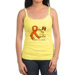 Leukemia Ribbon Sister-in-Law Jr. Spaghetti Tank
