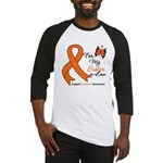 Leukemia Ribbon Sister-in-Law Baseball Jersey