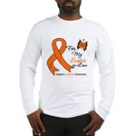 Leukemia Ribbon Sister-in-Law Long Sleeve T-Shirt