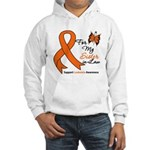 Leukemia Ribbon Sister-in-Law Hooded Sweatshirt